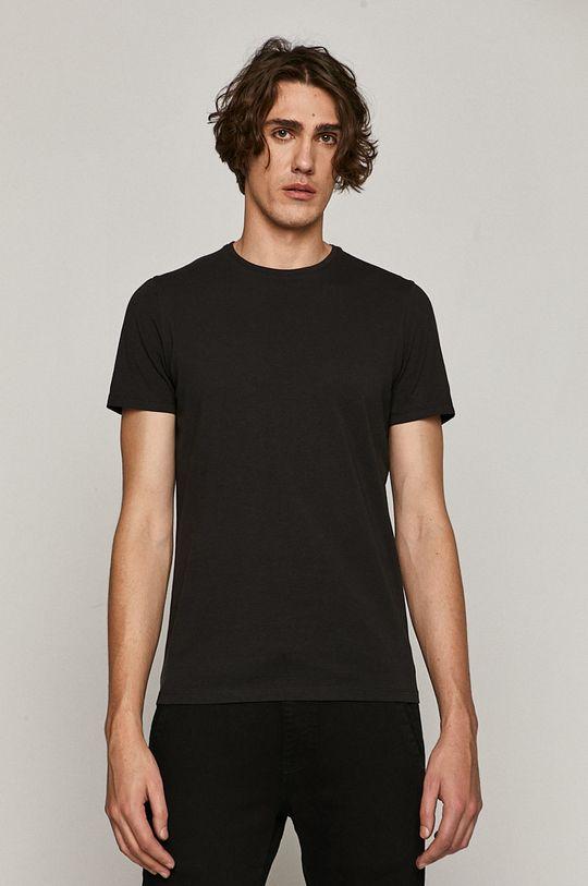 czarny Medicine - T-shirt Basic Męski