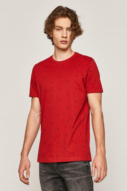 červená Medicine - Tričko Basic Pánsky