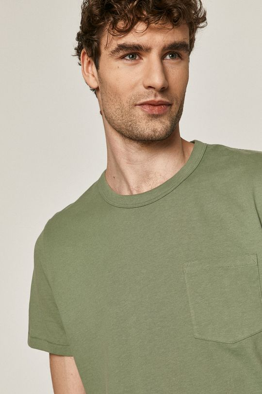 zelená Medicine - Tričko Basic Pánsky