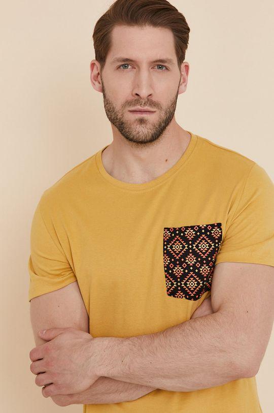 žlutá Medicine - Tričko Basic