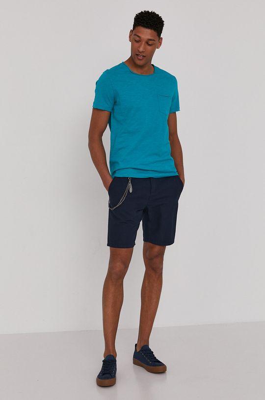 Medicine - Tričko Basic morská modrá