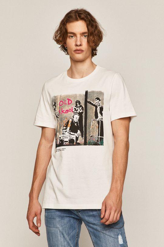 biały Medicine - T-shirt Banksy's Graffiti