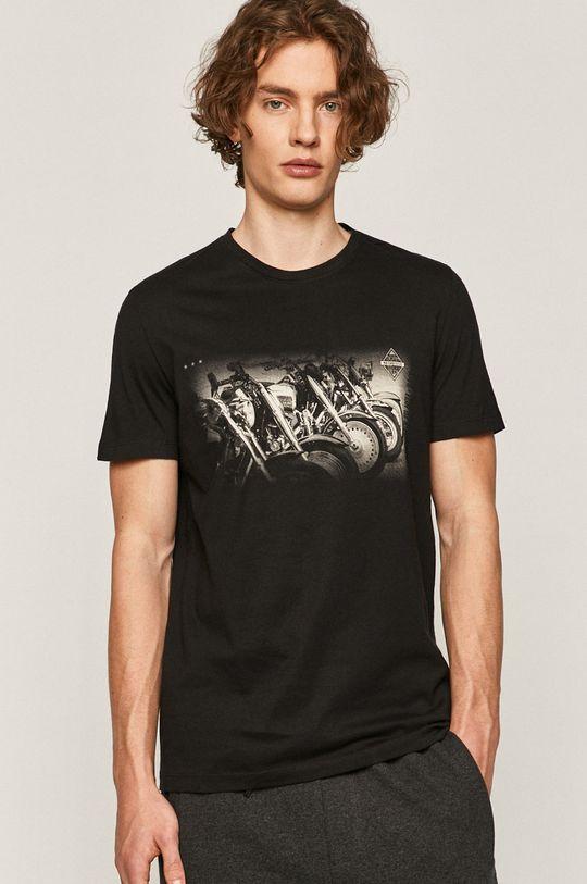 negru Medicine - Tricou Rock&Roll De bărbați