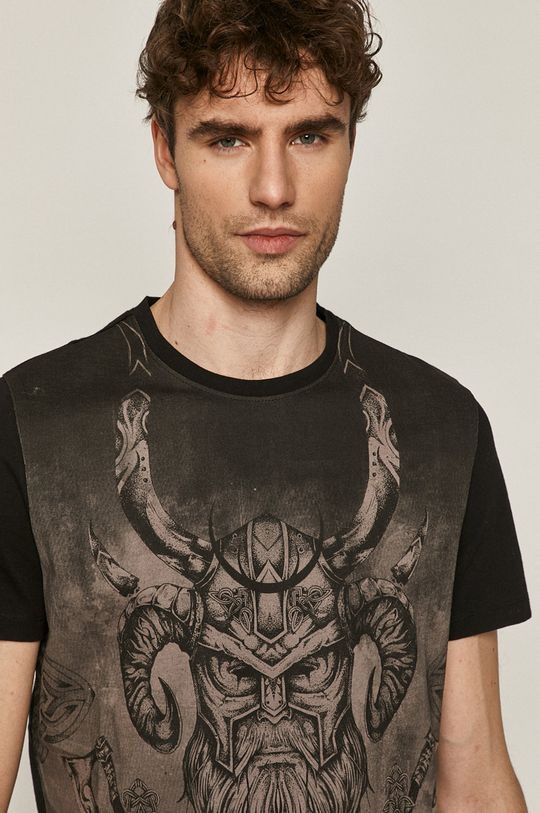 czarny Medicine - T-shirt Casual Elegance