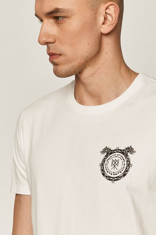 biały Medicine - T-shirt Casual Elegance