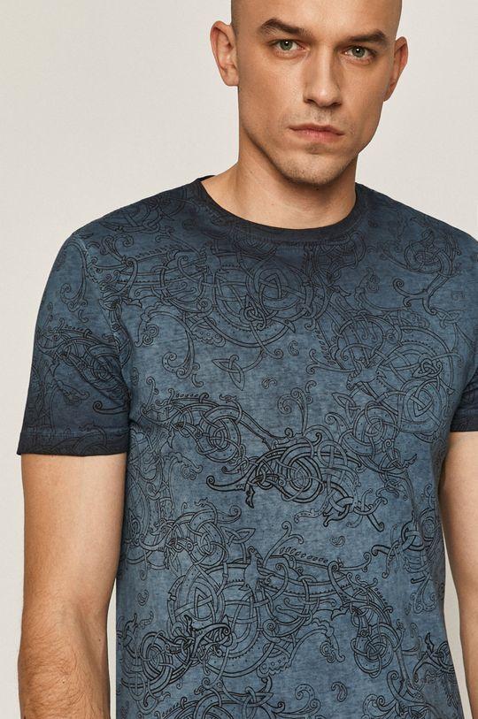 námořnická modř Medicine - Tričko Casual Elegance