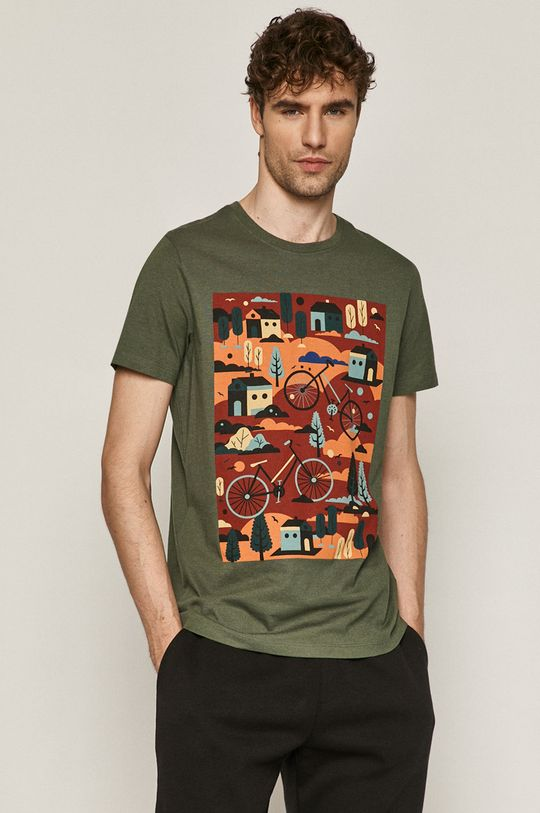 zelená Medicine - Tričko Retro Cool Pánský