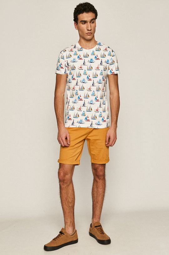 Medicine - T-shirt Ships & Maps biały