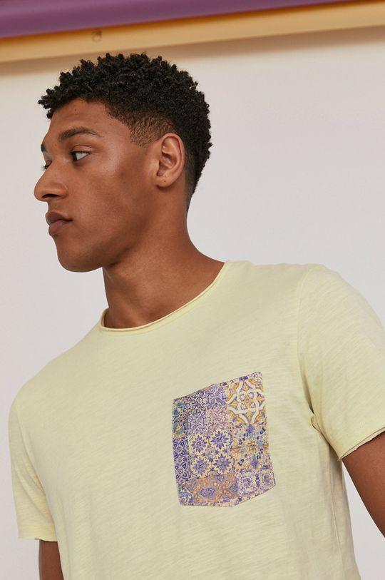 blady zielony Medicine - T-shirt Modern Africa Męski