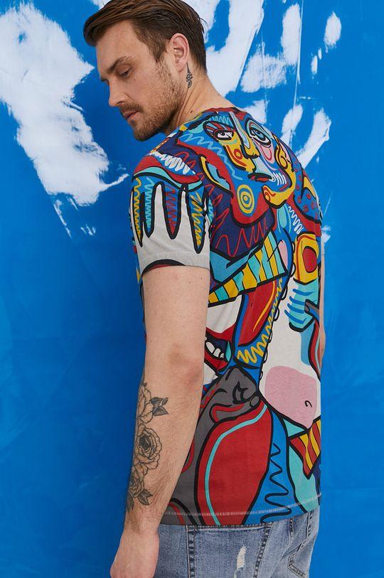 """multicolor Medicine - T-shirt by """"Krabonszcz"""" – Nikodem Szewczyk, Grafika Polska Męski"""