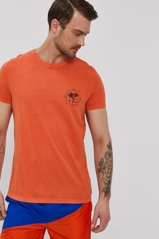 oranžová Medicine - Tričko Summer Vibes Pánský