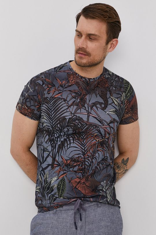 granatowy Medicine - T-shirt Summer Vibes Męski