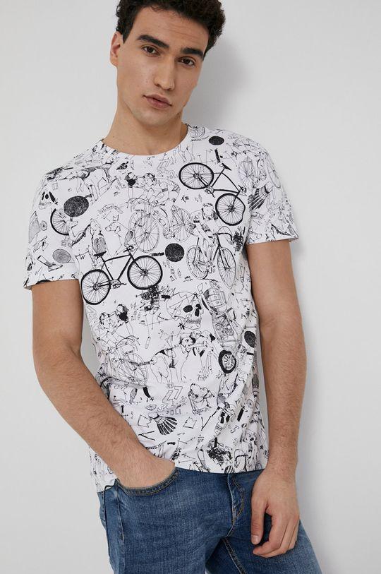 biały Medicine - T-shirt SketchBook Męski