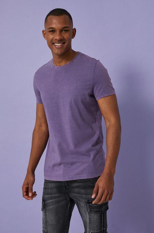 fialová Medicine - Tričko Basic Pánsky