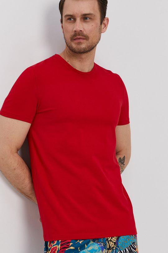 czerwony Medicine - T-shirt Basic Męski