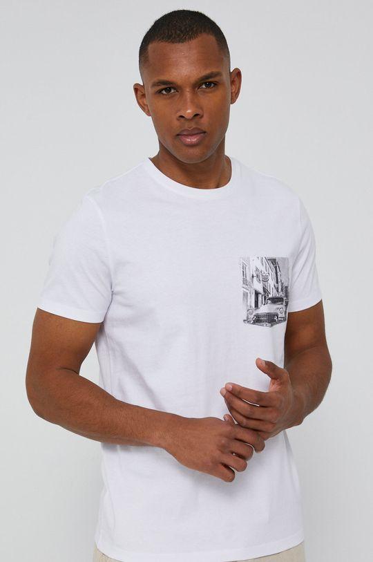 biały Medicine - T-shirt Cars Męski