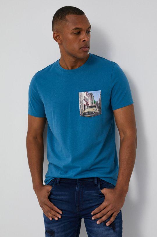 jasny niebieski Medicine - T-shirt Cars Męski