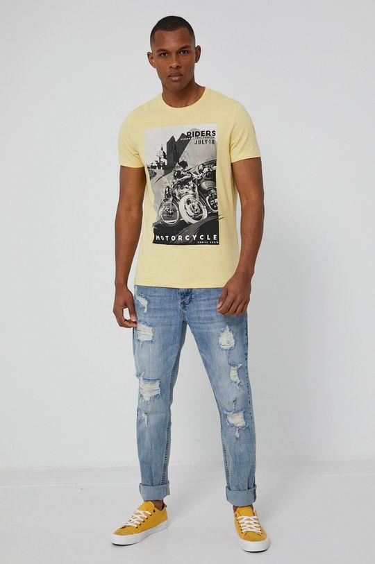 Medicine - T-shirt Cars jasny żółty
