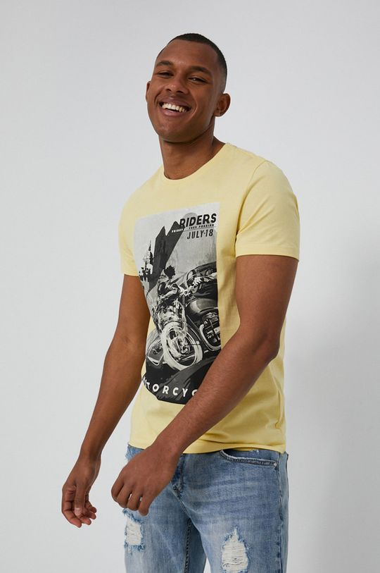 jasny żółty Medicine - T-shirt Cars