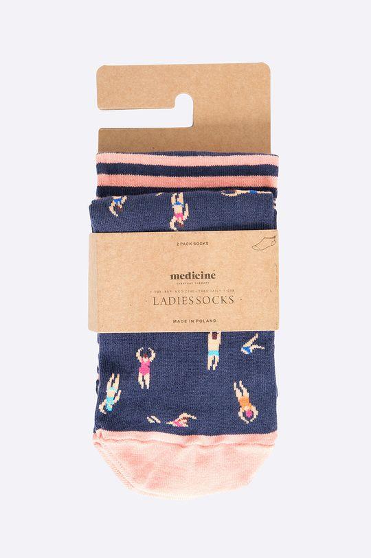 Medicine - Kotníkové ponožky The bigger splash (2-pack) vícebarevná