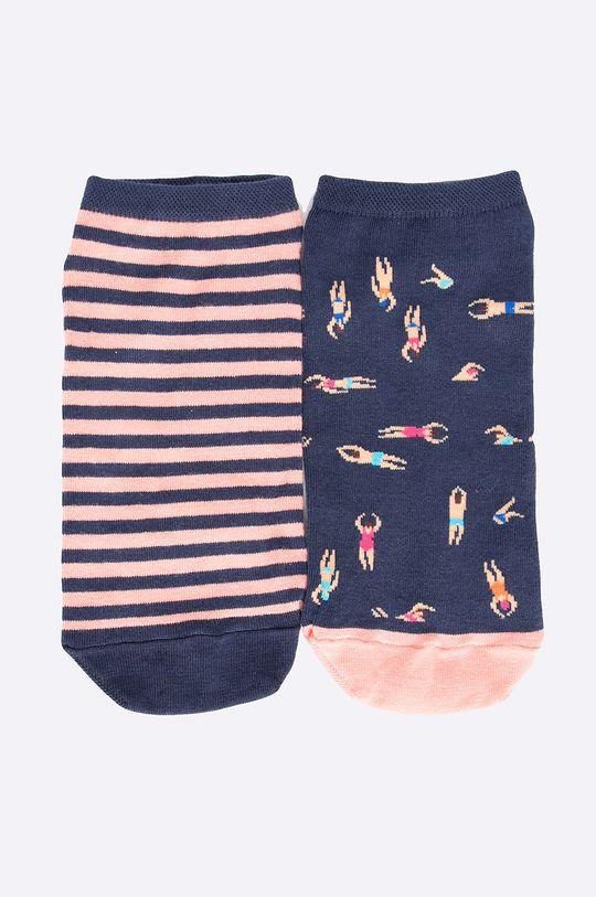 vícebarevná Medicine - Kotníkové ponožky The bigger splash (2-pack) Dámský