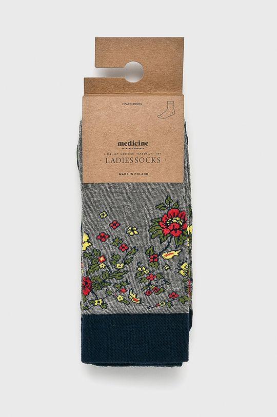 Medicine - Чорапки Hand Made (2-бройки) многоцветен