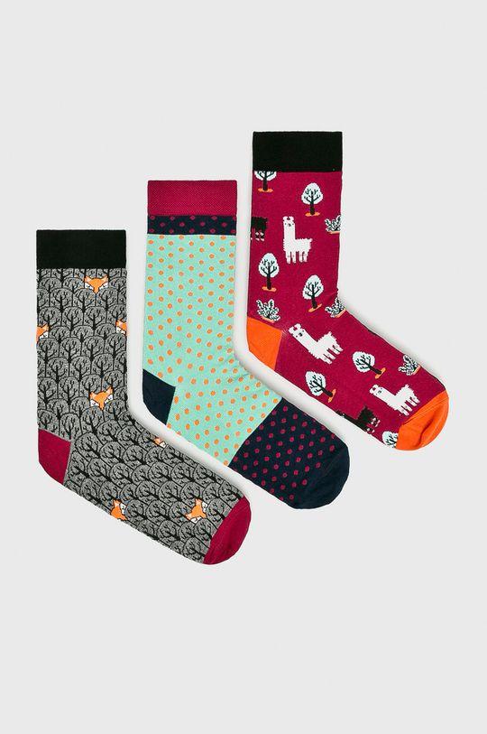 многоцветен Medicine - Чорапки Secret Garden (3-бройки) Жіночий