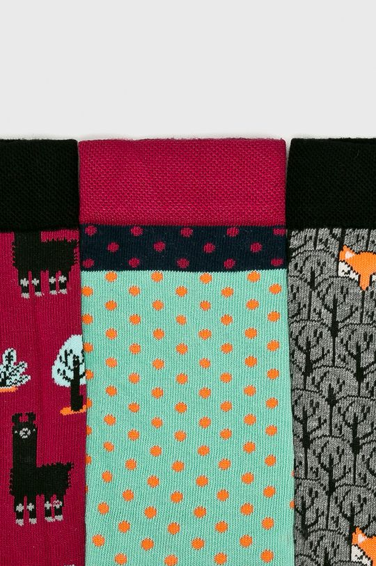 Medicine - Чорапки Secret Garden (3-бройки)  75% Памук, 2% Еластан, 23% Полиестер