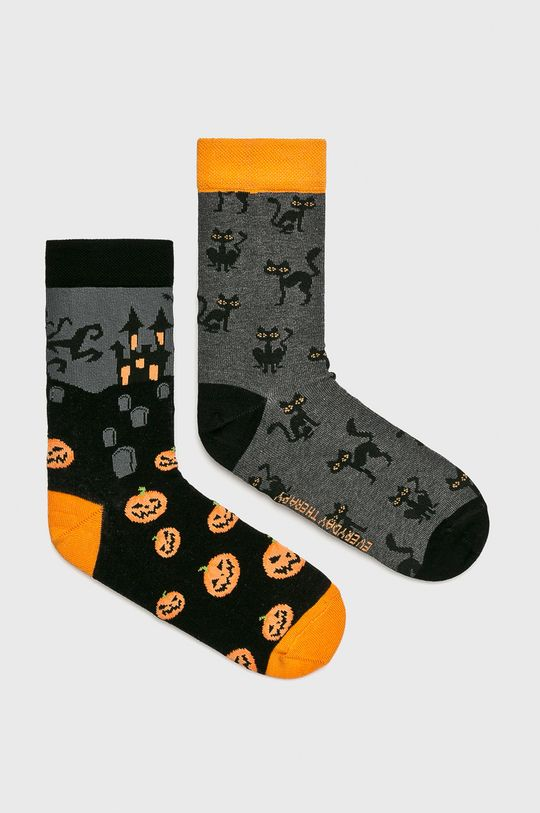 многоцветен Medicine - Чорапки Halloween (2-бройки) Жіночий