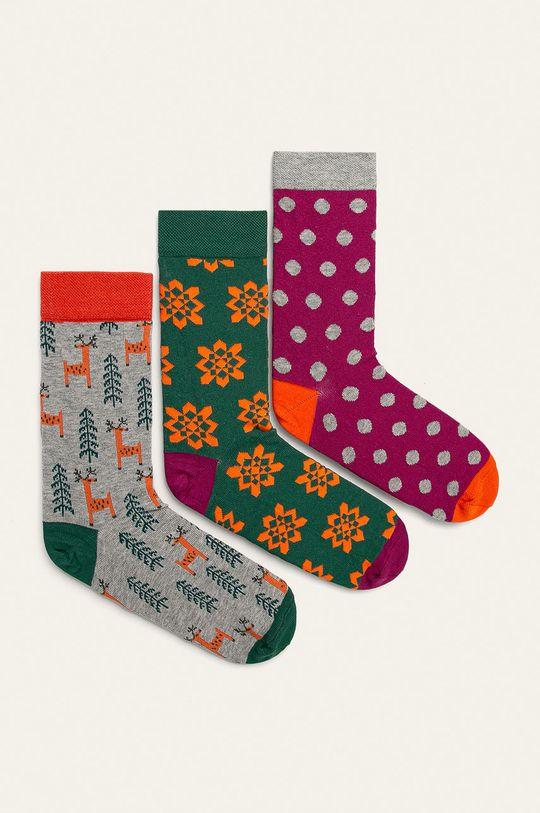 многоцветен Medicine - Чорапки A_XMASS Жіночий