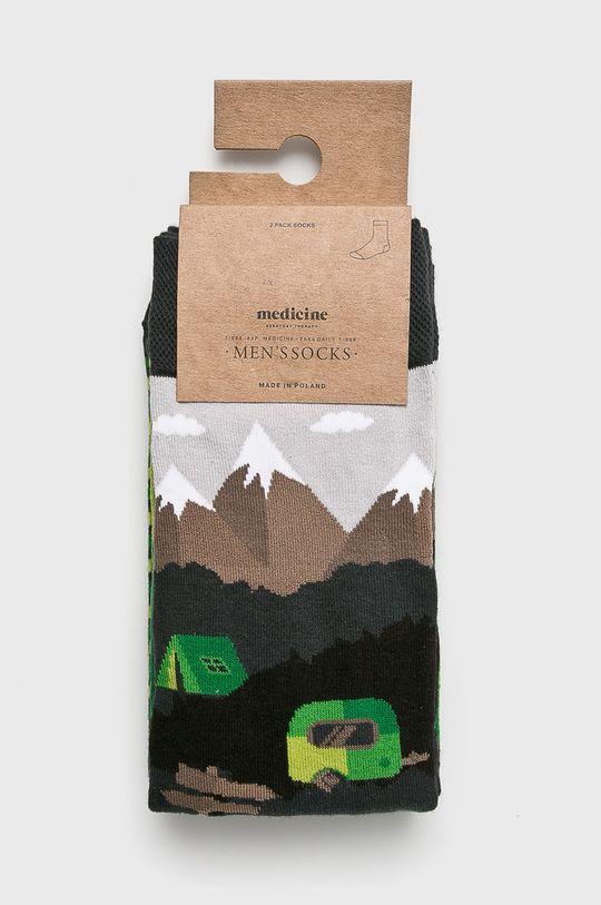 Medicine - Чорапи Northern Story (2-бройки) многоцветен