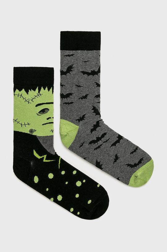 многоцветен Medicine - Чорапи Halloween (2-бройки) Чоловічий