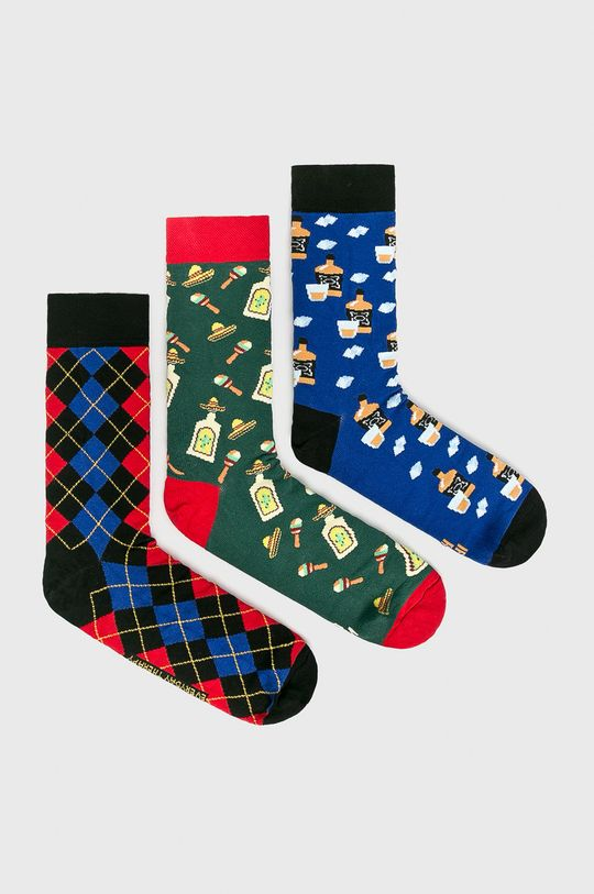 многоцветен Medicine - Чорапи 8_Party Time Чоловічий