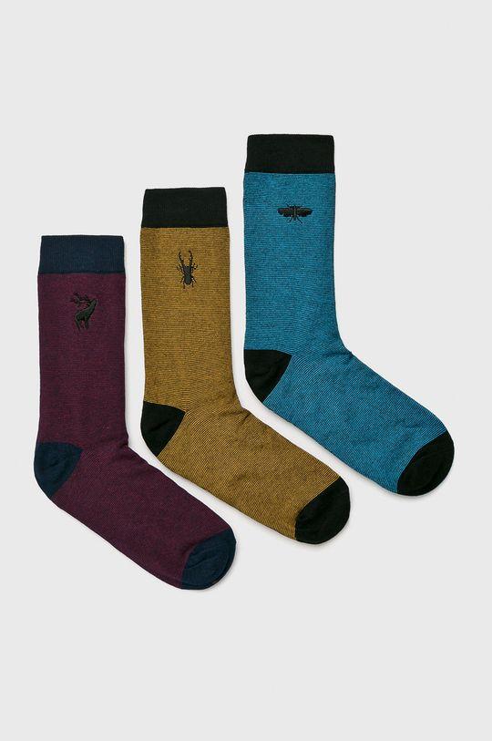 многоцветен Medicine - Чорапи Basic (3-бройки) Чоловічий