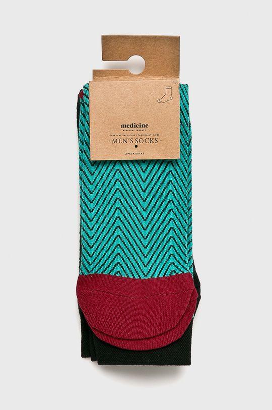Medicine - Чорапи Basic (2-бройки) многоцветен