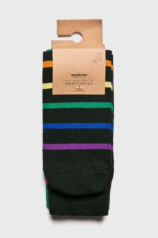 Medicine - Чорапи Geometrical (2-бройки) многоцветен