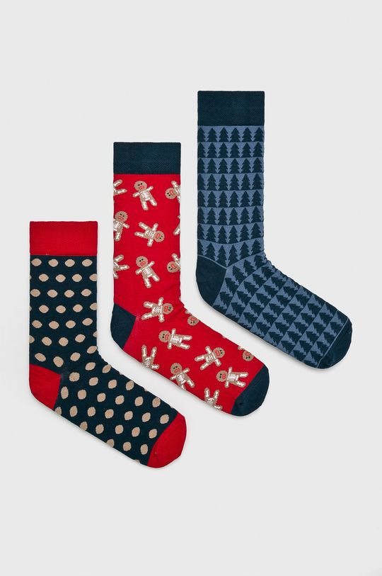 многоцветен Medicine - Чорапи A_XMASS Чоловічий