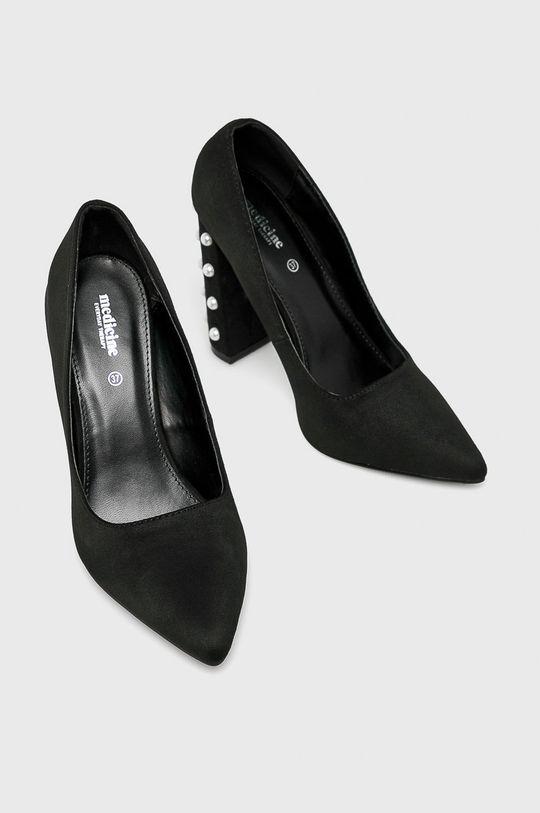Medicine - Обувки с дебел ток Essential  Горна част: Текстилен материал Вътрешна част: Синтетичен материал Подметка: Синтетичен материал