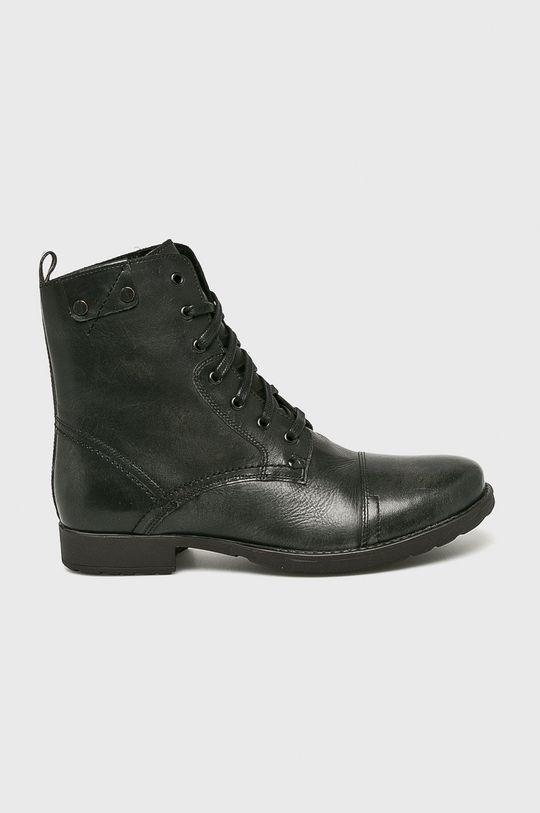negru Medicine - Pantofi Basic De bărbați