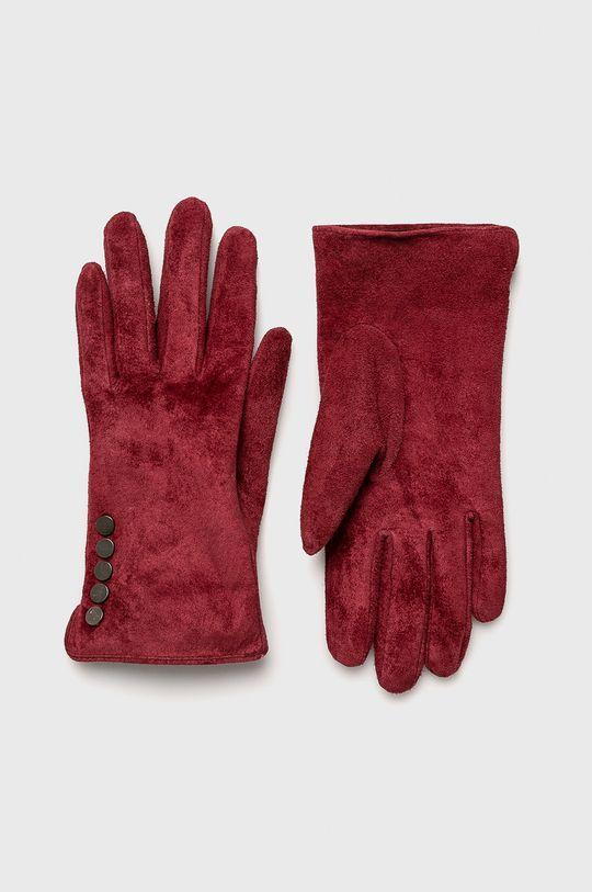 кармин Medicine - Кожени ръкавици Vintage Revival Жіночий