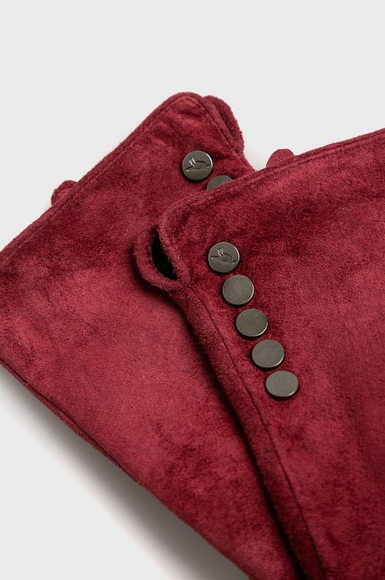 Medicine - Кожени ръкавици Vintage Revival кармин