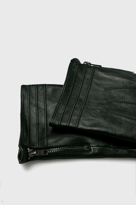 Medicine - Kožené rukavice Northern Story černá