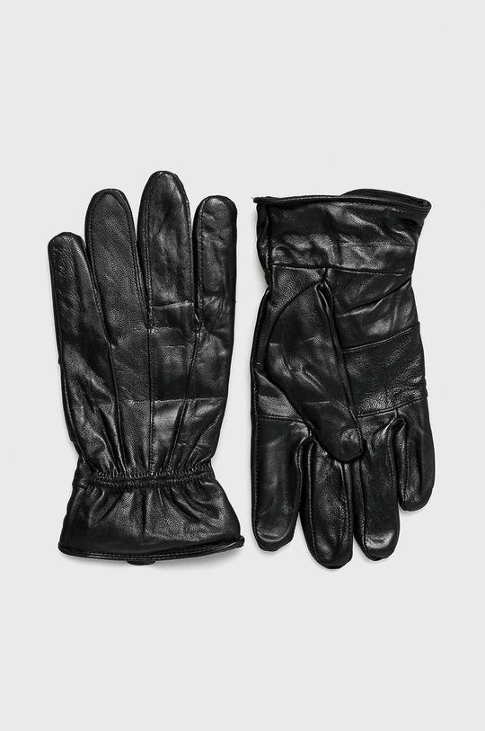 черен Medicine - Кожени ръкавици Northern Story Чоловічий