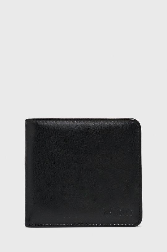 czarny Medicine - Zestaw pasek i portfel A_XMASS