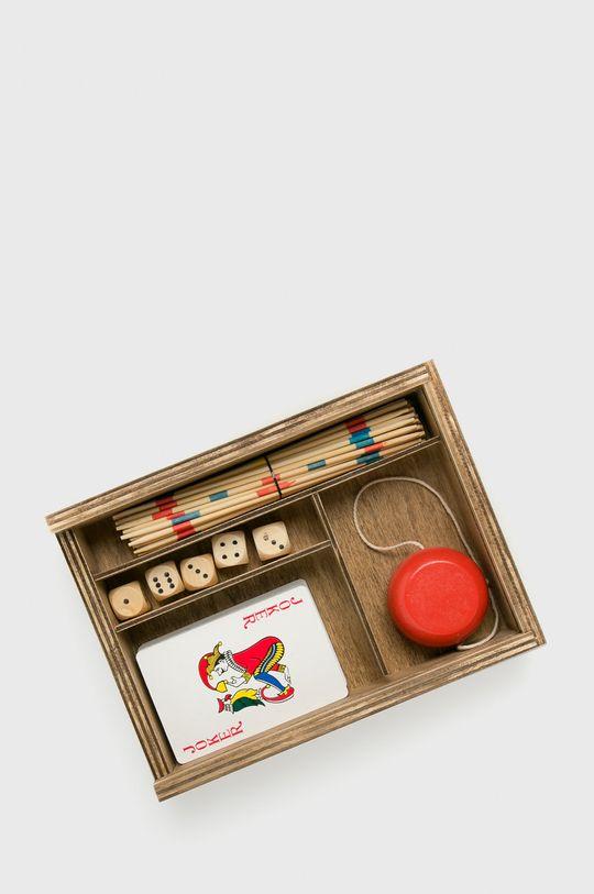złoty brąz Medicine - Vintage games set A_XMASS Męski