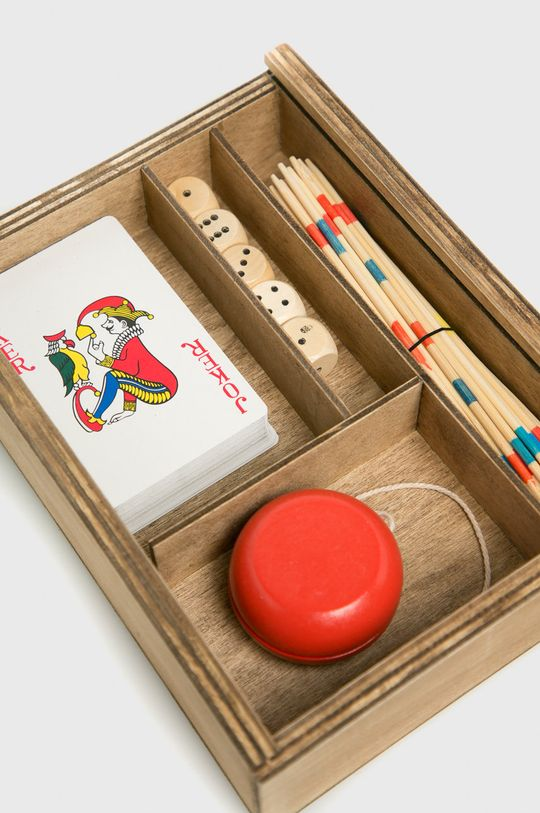 Medicine - Vintage games set A_XMASS <p>Materiał zasadniczy: 80 % Drewno, 20 % Papier,</p>