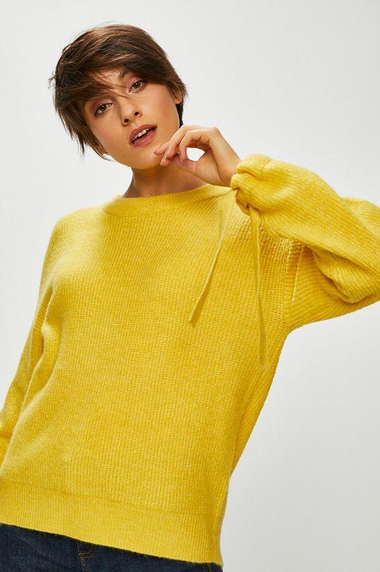 żółty Medicine - Sweter Basic