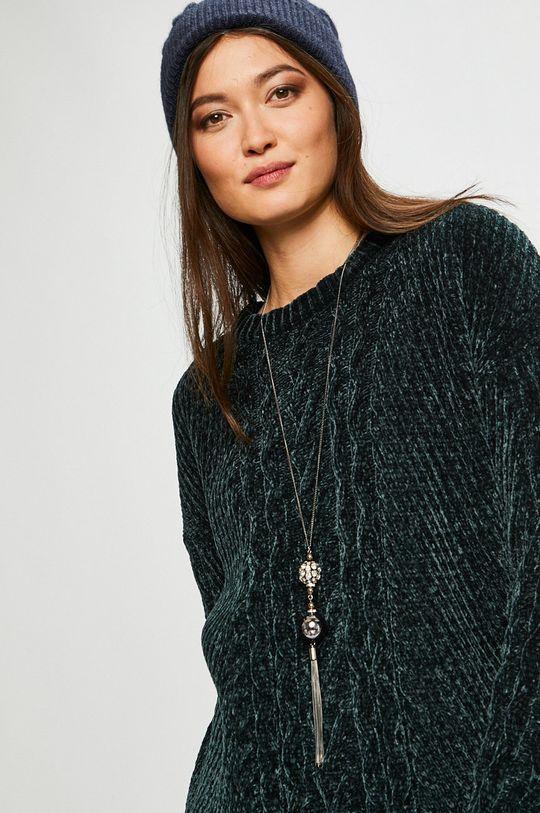 тъмнотюркоазен Medicine - Пуловер Basic