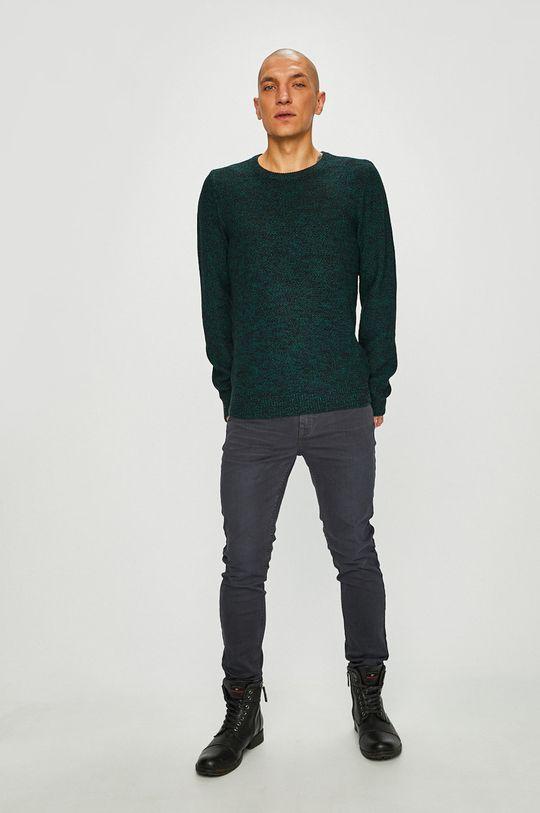 Medicine - Пуловер Scottish Modernity зелено-син