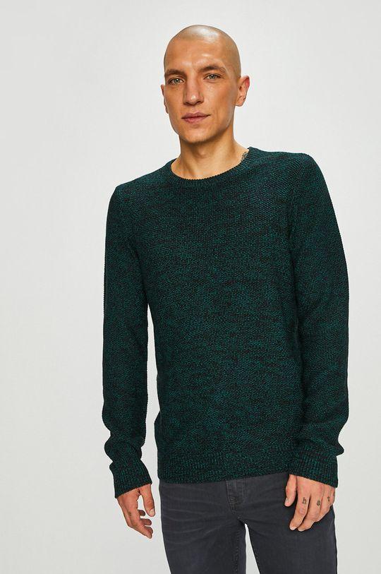 зелено-син Medicine - Пуловер Scottish Modernity